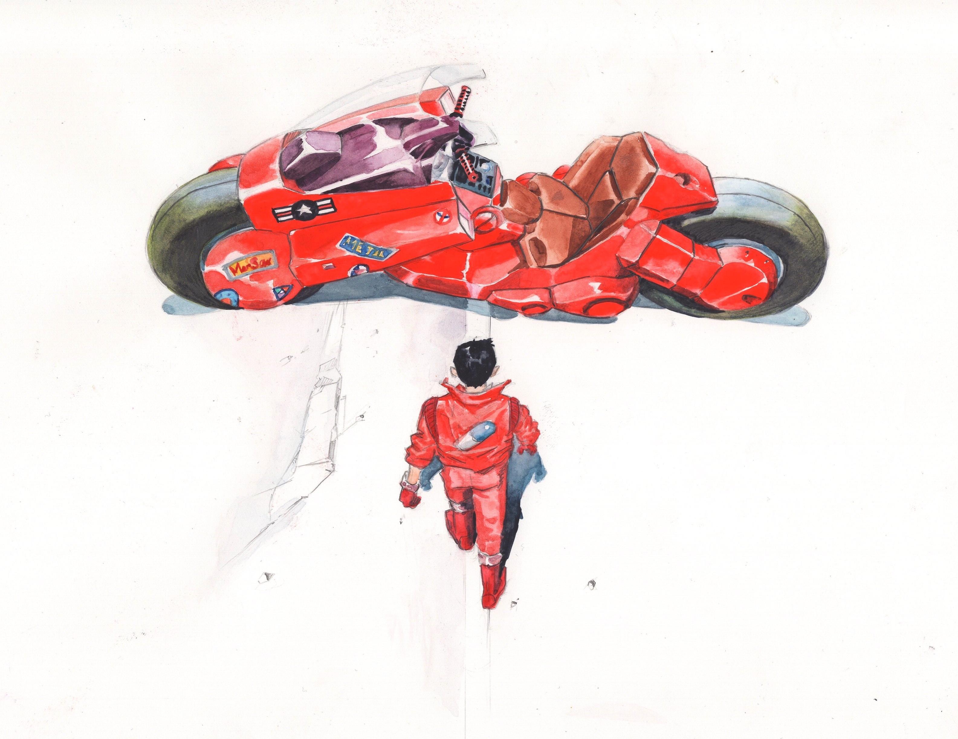 AKIRA 金田のバイク