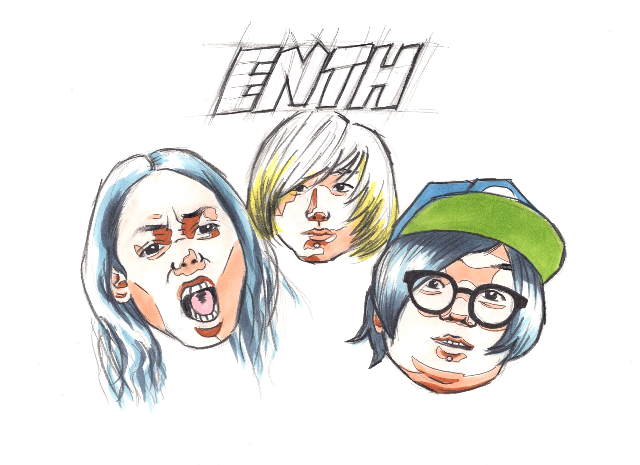 ENTH バンドイラスト