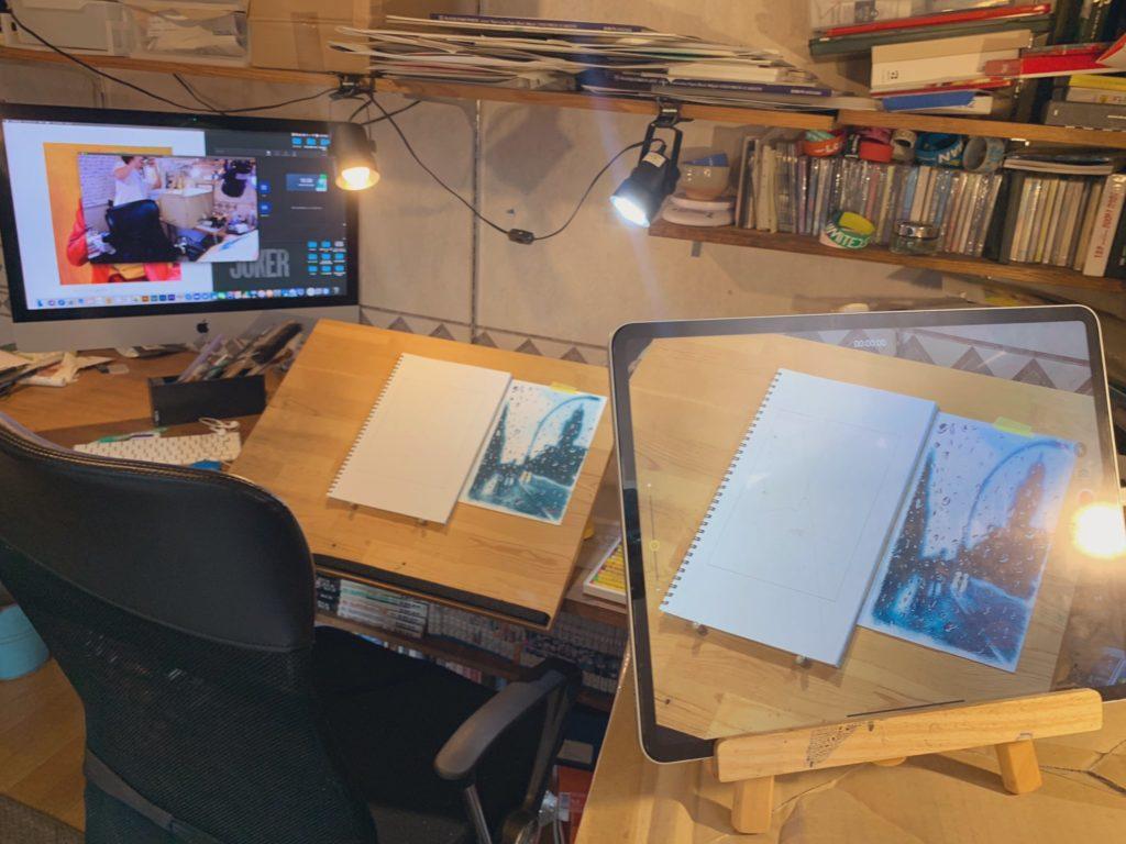 オンライン絵画教室 お絵描きポケット オイルパステル画