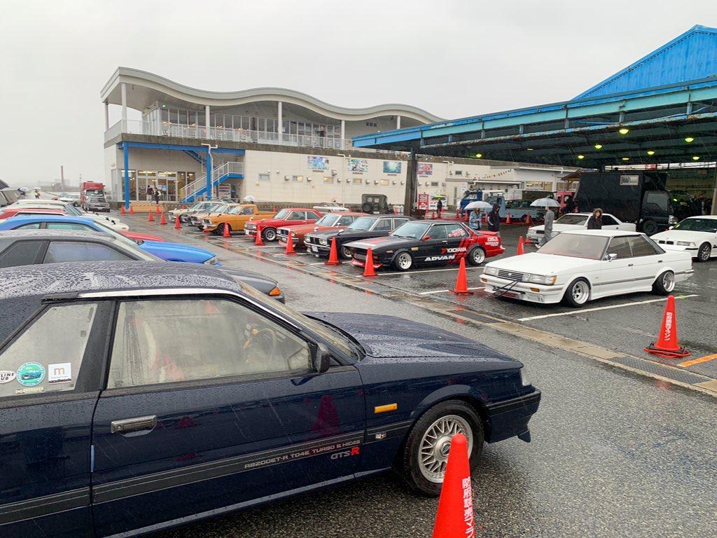 レトロカーコレクションin潮彩
