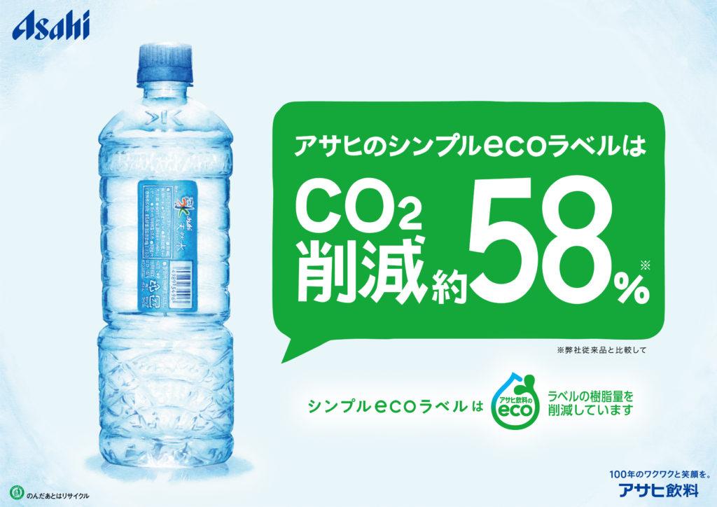 アサヒ飲料 おいしい水 ポップ 飲料水イラスト