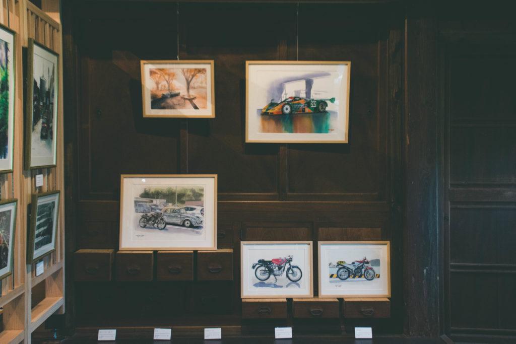 「とこのまコサカダイキ個展 -特別でなくても、-」下関市gallery CAFE とこのま