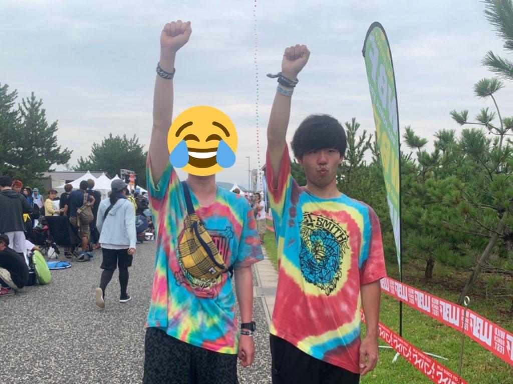 WILD BUNCH FEST. 2021 オフィシャルグッズ Tシャツイラストデザイン